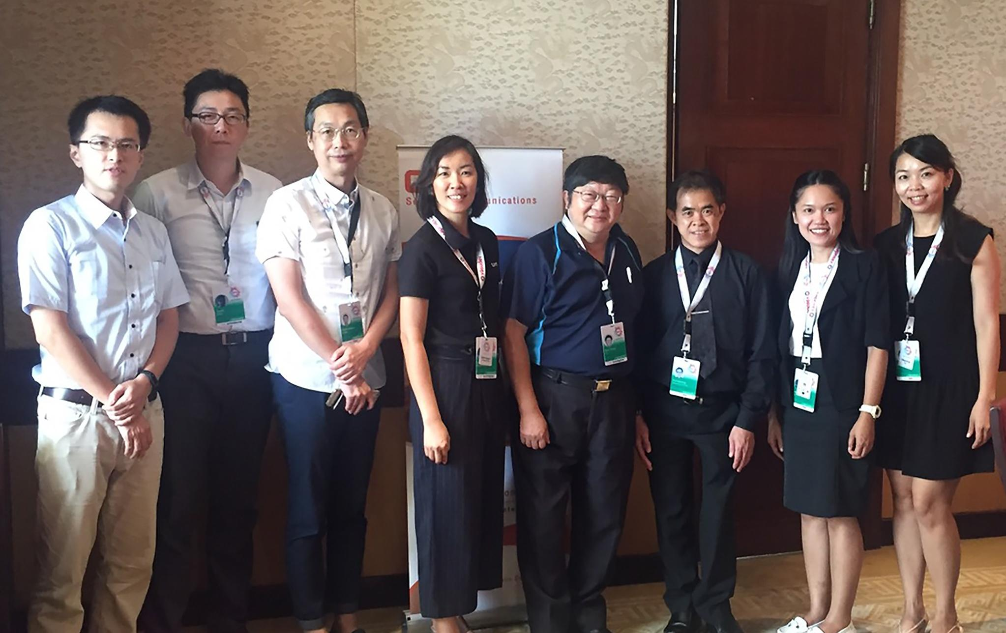 CAT attended Asian Carriers Conference 2017 to show readiness on international business
