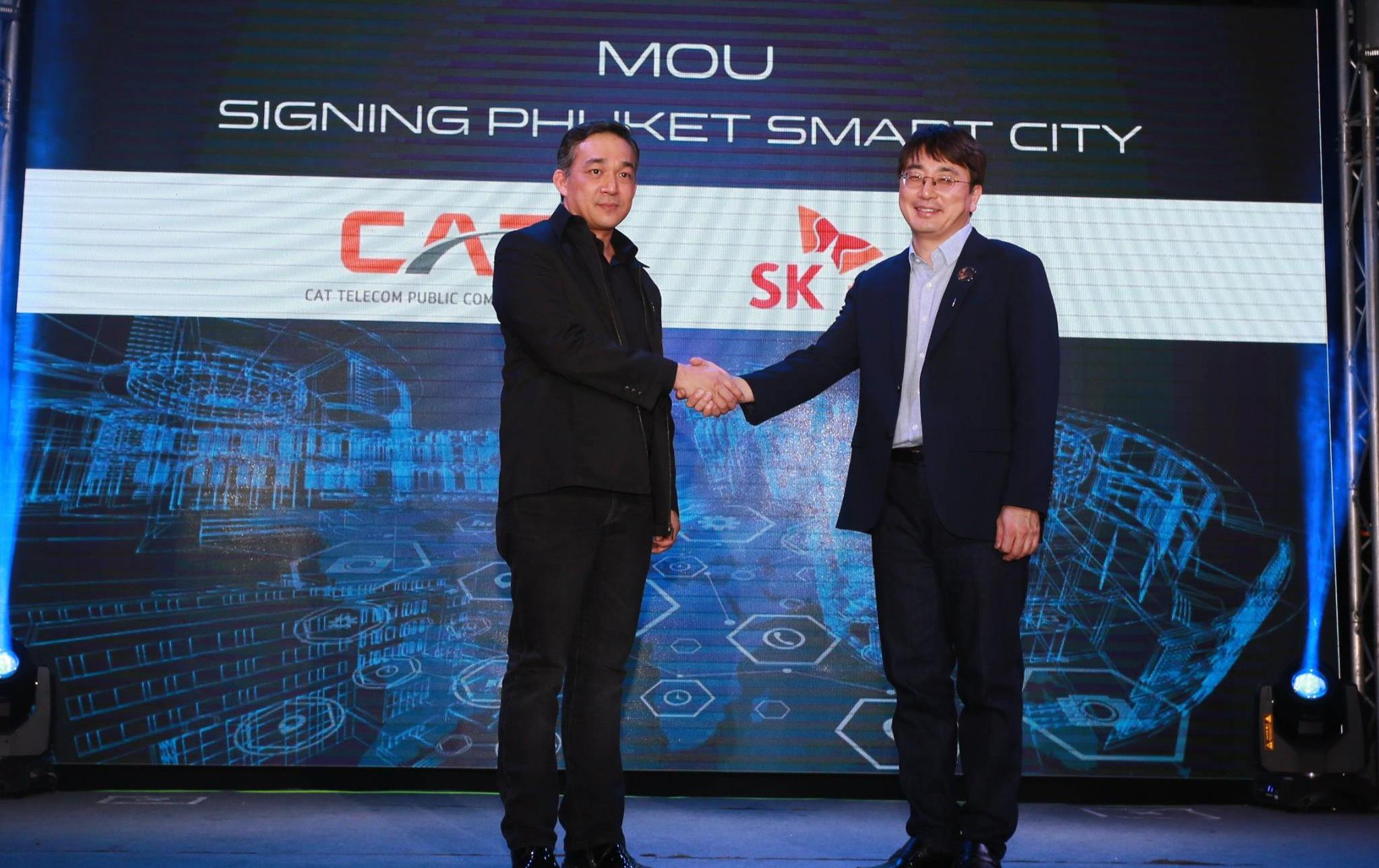 CAT steps into the new S-Curve, partnering with two leading South Korea companies, launches 'Tree Pay' Total solution Payment Gateway and 'Phuket Smart City' mega project, the first LoRa IoT Network in ASEAN.