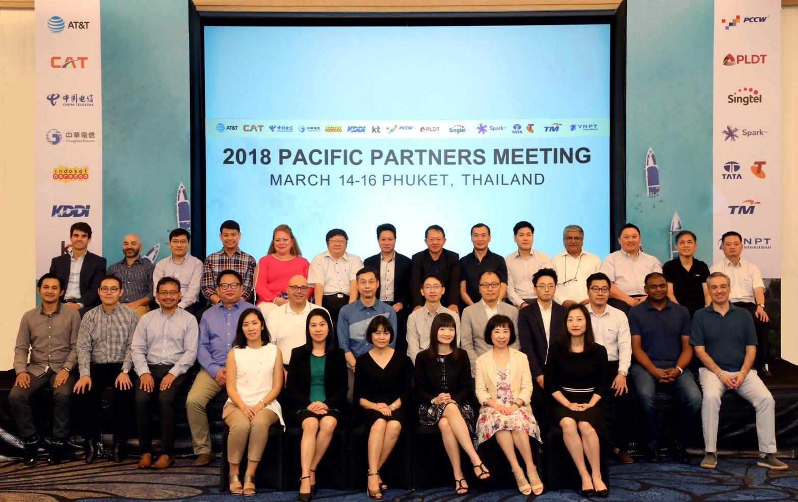 CAT Telecom holds meeting on mega projects to develop business and boost credibility at international level with participation of leading telecommunication operators across Asia Pacific