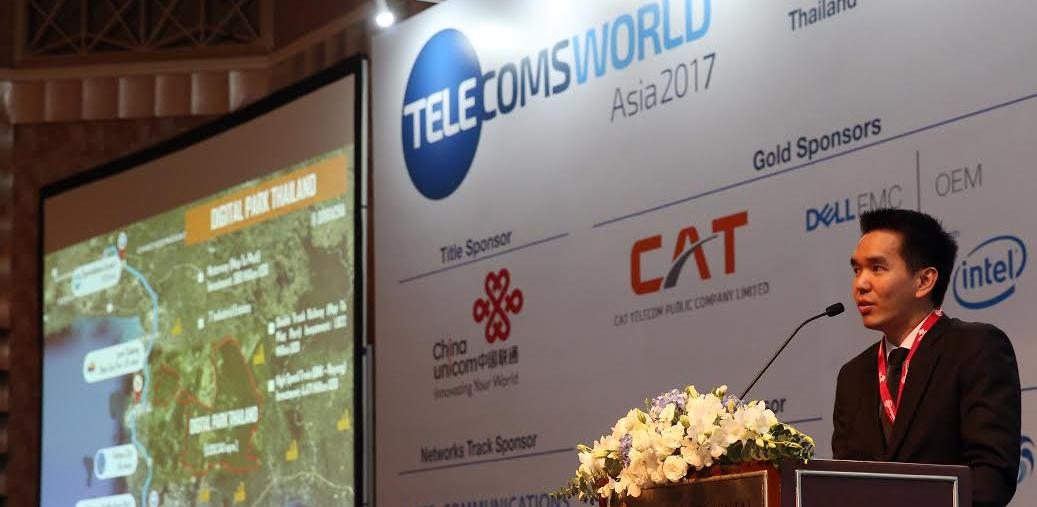 CAT Promotes Digital Park Thailand – Megaproject to Pave Way for Digital Industry Development – at Telecoms World Asia 2017